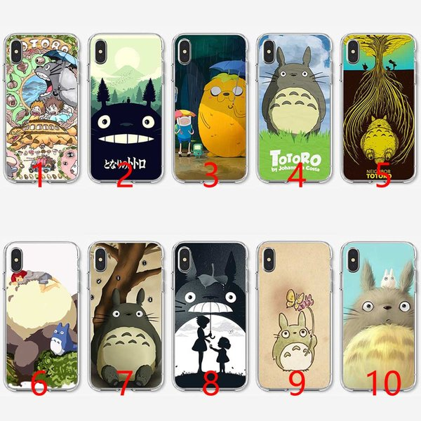 coque iphone 5 silicone totoro
