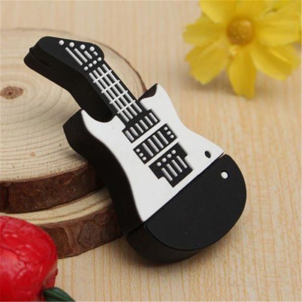 32GB USB 2.0 Flash Pen Drive Mini Guitar Memory Stick Thumb USB Storage U Disk