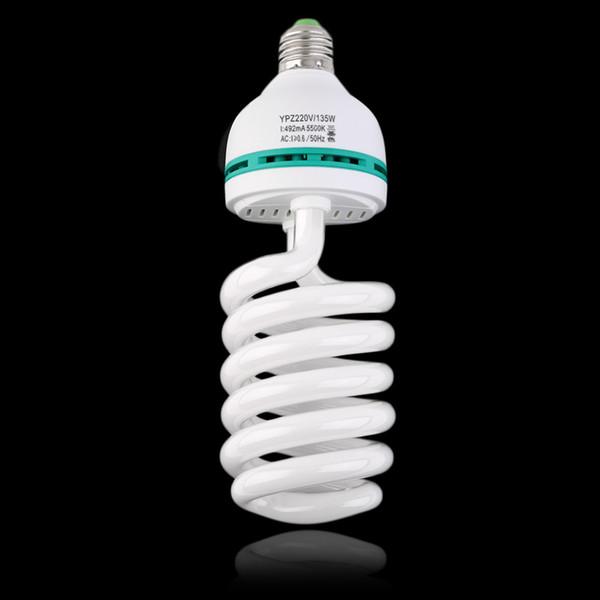 2017 new Photographic Lighting E27 220V 5500K 135W Photo Studio Bulb Video Light Photography Daylight Lamp for digital camera