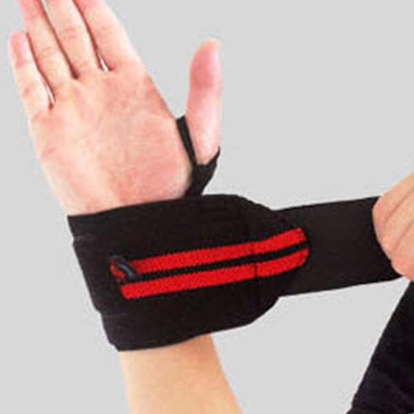 Novo 1 Par Ginásio Levantamento De Peso Luvas de Levantamento de Peso Bar Aperto de Barbell Correias Wraps Apoio para o Punho Proteção Das Mãos
