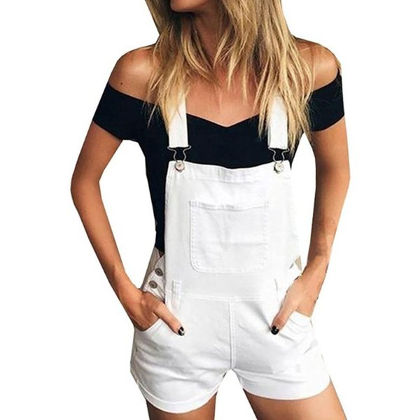 Sunfree New Women Summer Beach Rompers Free Shipping Casual Mujer Holiday Party Solid Jumpsuits Elegant Playsuit Hot Selling 30P