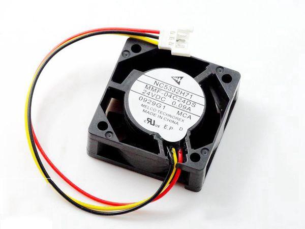 top popular New Original Inverter cooling fan for Mitsubishi drive NC5332H71 MMF-04C24DS 24V 0.09A 40*40*15MM 4cm mitsubishi converter cooler fan 2021