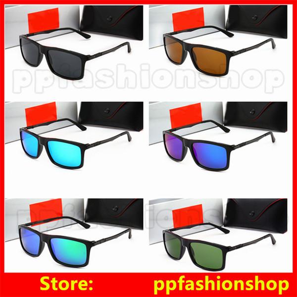 Yeni Model Cam Bisiklet Güneş Gözlükleri Tasarımcı Güneş Gözlüğü Kadın Erkek Moda Açık Havada Kare Çerçeve Güneş Gözlüğü UV Koruma Gözlük