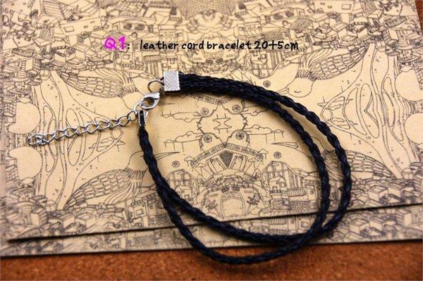 Metal Color:leather bracelets