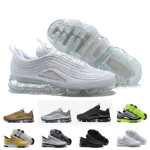 HOT New Cheap Mens sport Air Sports 97 scarpe da corsa, Premium OG Neon Cool Grey scarpe sportive sneakers taglia 36-46