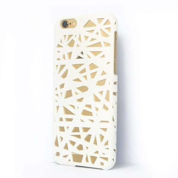 Plastic Hollow-out Slim Matte Bird Nest Hollow Hard Cover Case For iPhone