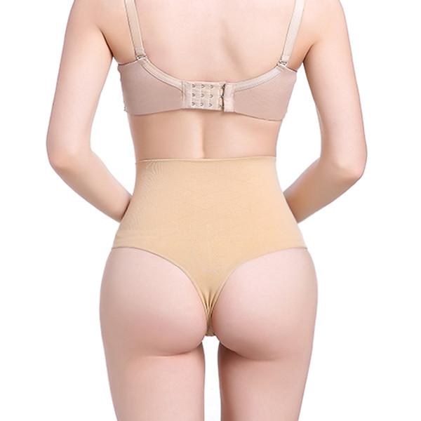 Tummy Slimming Control Shapewear Underwear Butt Lifter Women High Waist Trainer Hot Shaper Seamless G-string Panties Shapers
