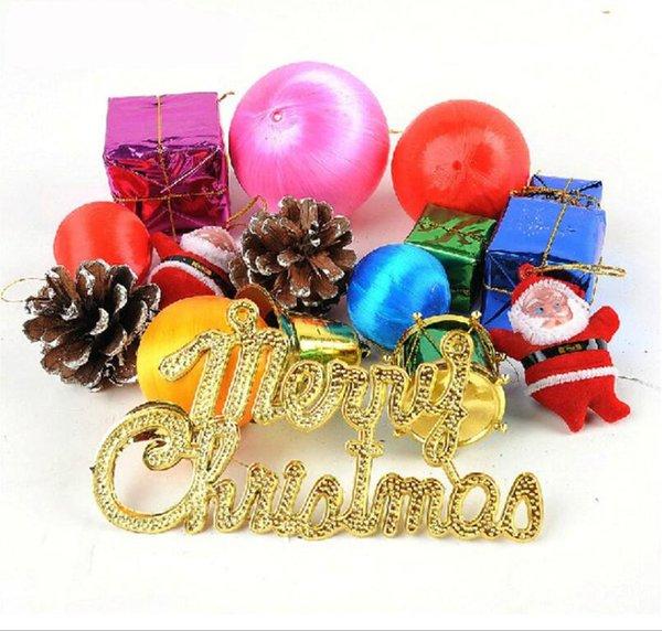 15 tipos de colgantes, bolsas de navidad, decoraciones de regalo, colgantes de árboles de navidad