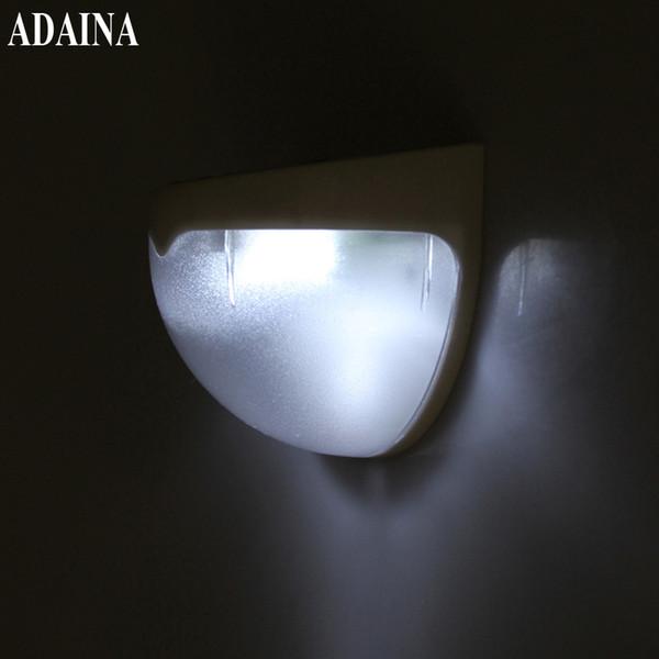 Lumières solaires extérieures à LED Quart de ballon étanche 6 LED lampe de sécurité de décoration de jardin de capteur de lumière de mur de rue