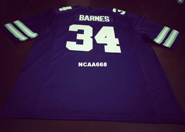brand new 55cb0 de070 2019 Men Replica #34 Alex Barnes Kansas State Wildcats Alumni Football  Jersey S 4XLor Custom Any Name Or Number Jersey From Ncaa668, $16.45 | ...