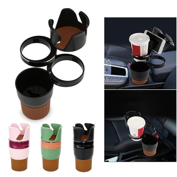 Useful Creative Drink Cup Holder Multi Function Car Phone Storage Box Sunglasses Key stand Seat Storage Box