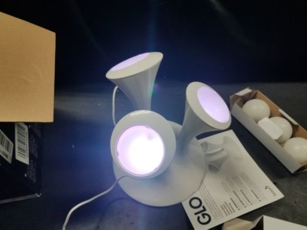 Mushroom led colorful night light gradient fluorescent bedside table lamp gift atmosphere LED table lamp factory wholesale
