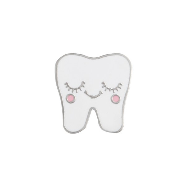 wholesale tooth brooches and pins Gift Halloween Crystal Cartoon Brooch Gift Pin tooth Brooches Pins Jewelry Brooches for Men Women