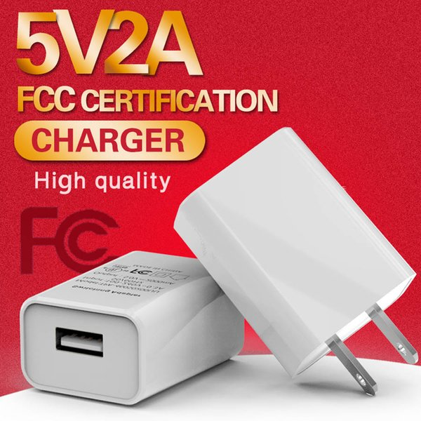 Universal 5V 2A USB Wall Travel Charger US EU Plug Portable Power Adapter Fast Charging For iPhone Samsung Tablet PC
