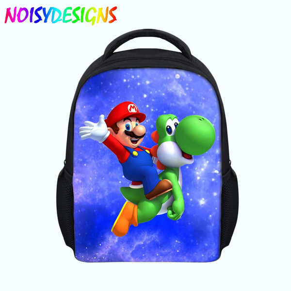 Super Mario Small Children Bag Kids Schoolbags for Kindergarten Boys Girls Cute Cartoon Children School Supplies Gifts Backpack
