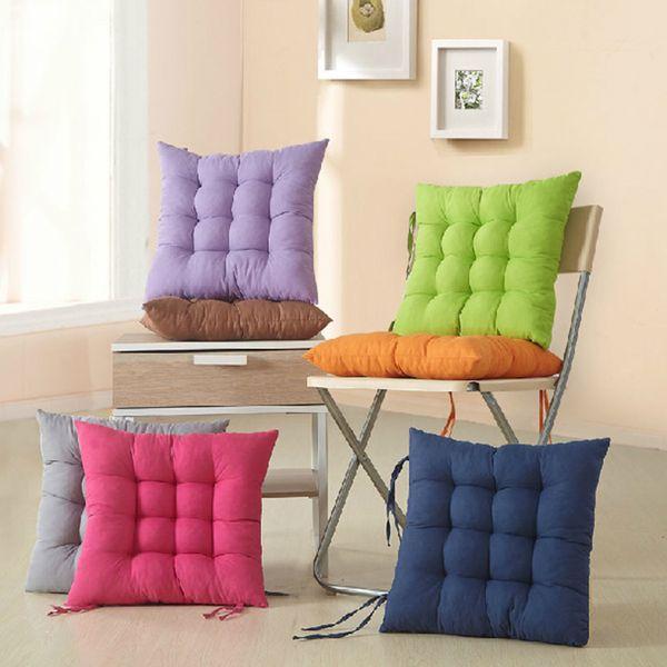 Japan Stil Stuhl Kissen Matte Pad Komfortable Sitzkissen Pad 40x40 cm Wohnkultur Dekokissen Bodenkissen Cojines Almohadas