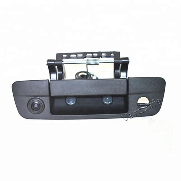 Vardsafe VS452| Car Tailgate Handle Reverse Backup Camera for Dodge Ram Pickup Trucks 1500 2500 3500 (2009-2018) | RCA Connector
