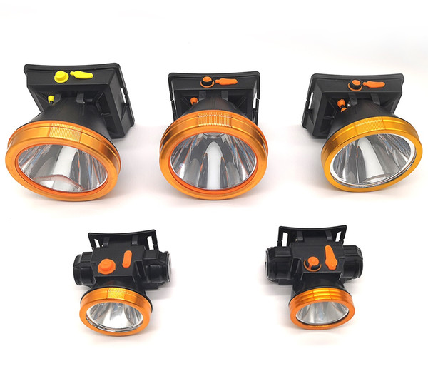 High Power Rechargeable LED Headlamp Headlight Outdoor Lighting Torch Lamp Hunting Headlamp Waterproof Battery 18650 Head Light