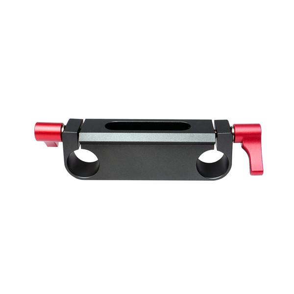MINIFOCUS 15mm Rail block Rod Clamp Holes for 15mm Rod Camera Rig/Cage Rail System Follow Focus