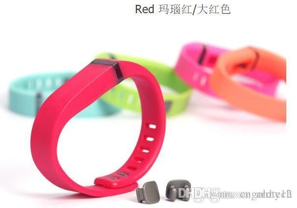 Fitbit Flex strap With Clasp Replacement TPU Wrist Strap Wireless Activity Bracelet Wristband With Metal Clasp No Tracker 13 Colors fashion