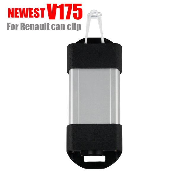 3pcs/lot high quality newest V175 FOR Renault CAN Clip Interface car OBD2 diagnostic tool obd2 car interface