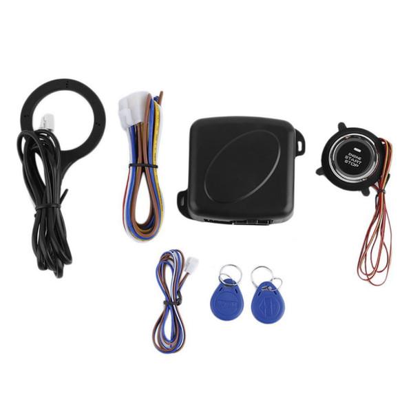 Smart Car Start System Push Engine Start Button Engine Lock Ignition Starter Keyless Go System Push Button Stock Safety
