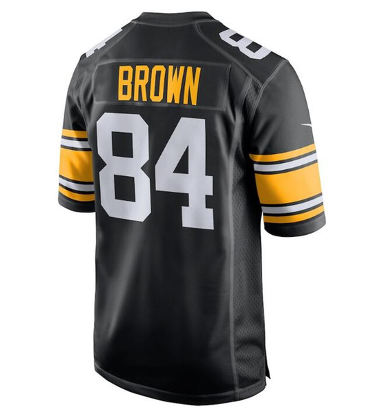 best website 48b59 f346a 2018 Women'S 84 Antonio Brown Jersey Alejandro Villanueva Pittsburgh  Steelers Camo Salute To Service Woman American Football Jersey Womens New  From ...