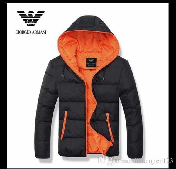 Mode Winter Unten Lange Warme Jacke Designer Männlichen Kapuzenmantel Marke Jacken für Männer Parkas Plus Hohe Qualität AMN01-08