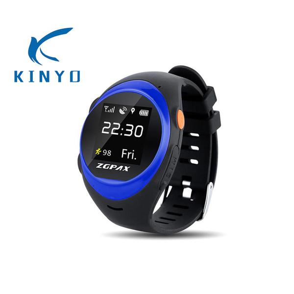 Anti-caída de alarma llamada SOS reloj inteligente responder automáticamente WIFI reloj inteligente fácil de hacer llamada a los hijos e hijas