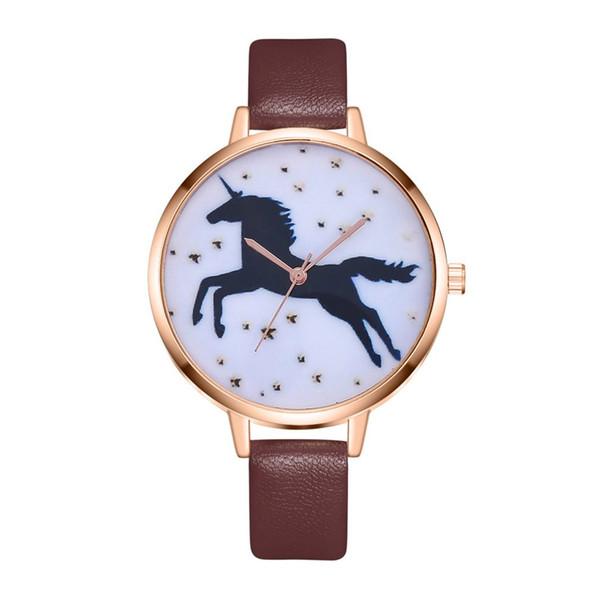 Homens de quartzo relógio de couro esporte relógios relógio pulseira das mulheres relógio de pulso das senhoras animal dress relógios relogio masculino