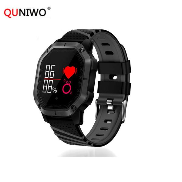 K5 Smart Watch IP68 a prueba de agua Múltiples modos de deportes Ciclismo Natación Monitor de frecuencia cardíaca Oxígeno de sangre Reloj de presión arterial