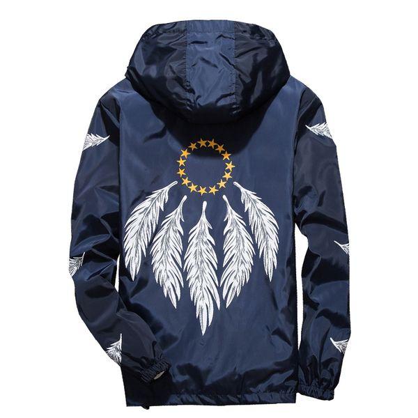 Neue Männer Marke Kleidung Sportbekleidung Männer Mode Dünne Windjacke Jacke Mäntel Outwear Mit Kapuze Männer Jacke