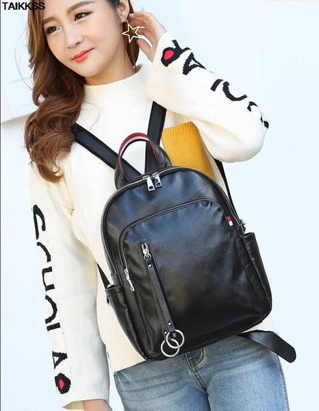 Beibaobao Adrette Rucksäcke Druck Nette Bookbag Schultaschen für Jugendliche Mädchen Design Frauen Rucksack Hochwertige Reisetasche