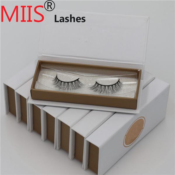 Private label Custom False Eyelash Packaging 100% Real Mink Fur Lash Package Acrylic Eyelash Box OEM Custom Logo Packaging