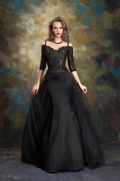 Vestidos de novia goticos baratos
