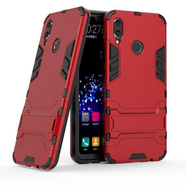 For Huawei Nova 3i Case Stand Rugged Combo Hybrid Armor Bracket Impact Holster Cover For Huawei Nova 3i