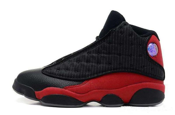 New mens Women kids 13 OG Black Cat Basketball Shoes 3M Reflect All Black 13s Trainer Sneakers For Sale kids shoes 36-47