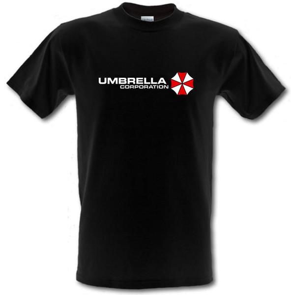 UMBRELLA CORPORATION Resident Evil Inspired Gamer Heavy Cotton camiseta S-XXL personalizada Camiseta estampada ecológica Hip Hop divertida