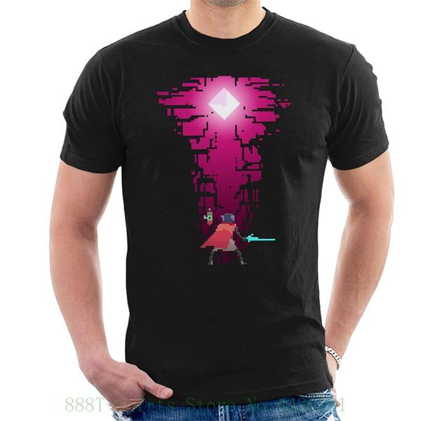 Hyper Light Drifter Gem Men's T Shirt Loose Cotton T shirts For Men Cool Tops T Shirts