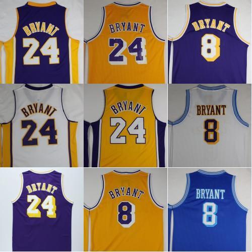 cheap for discount a4a3e 08b70 2019 New Black Mamba Kobe Bryant Basketball Jerseys 24 Kobe Bryant 8 Retro  Stitched Basketball Shirt Top Quality S XXL From Basketball_jerseys_1, ...