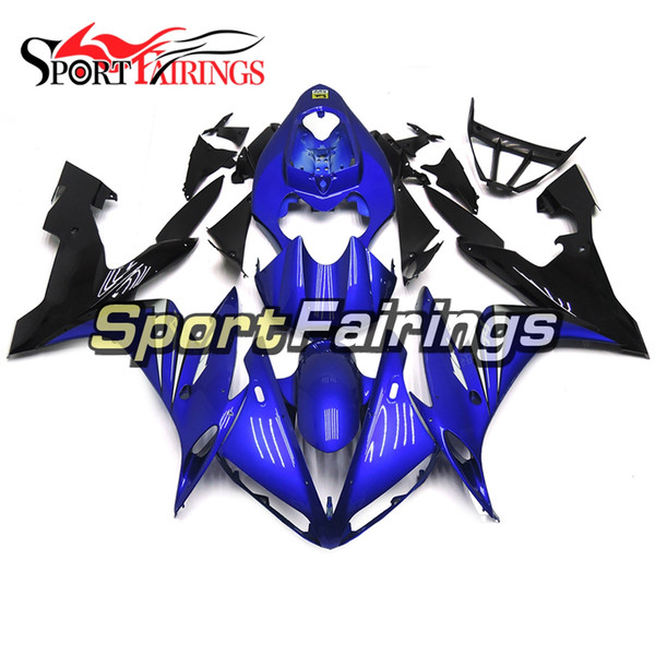 Full Fairing For Yamaha YZF1000 R1 Year 2004 - 2006 04 05 06 ABS Plastics Injection Motorcycle Bodywork Gloss Blue Black Body Kit Customized