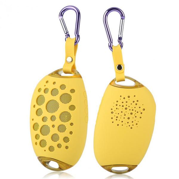 New Waterproof Bluetooth Speaker Mango Subwoofer Loudspeaker Portable Hook Hang Outdoors Amplifier Music Player Shockproof