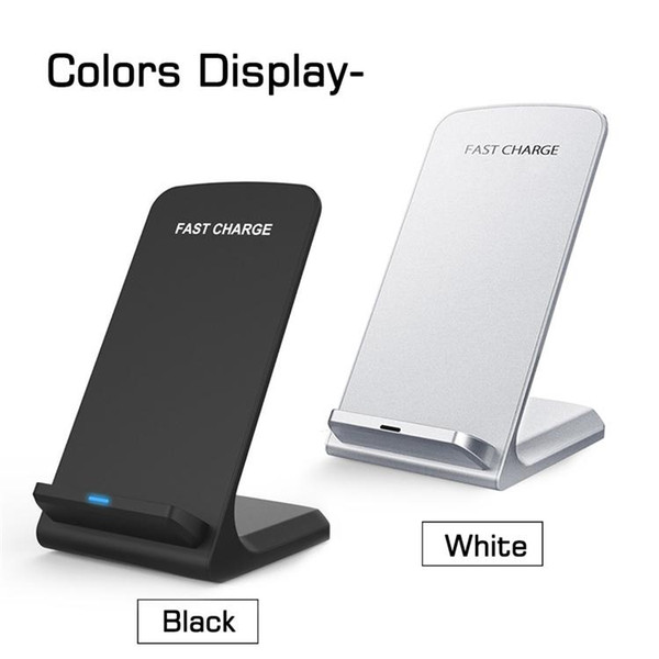 2 Coils Wireless Charger Fast Qi Wireless Charging Stand Pad for Apple iPhone X 8 8Plus Samsung Note 8 S8 S7 all Qi-enabled Arts and Crafts