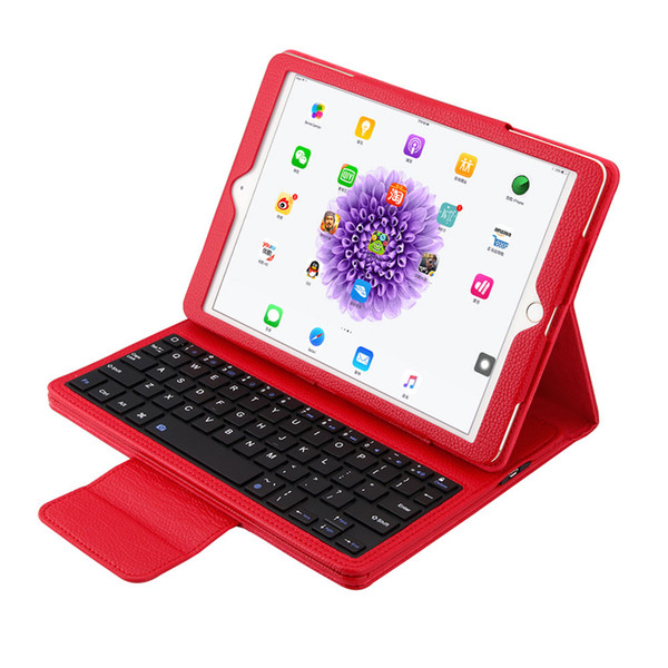 Detachable Bluetooth Keyboard Stand PU Leather Case for Apple iPad Air Air 2 iPad Pro 9.7''
