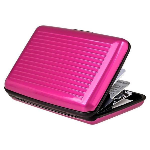 400pcs Aluminum ID Credit Card Wallet Holder Antimagnetic Waterproof Aluminum Cards Holder Pocket Wallet Holder Pocket Case lin3854
