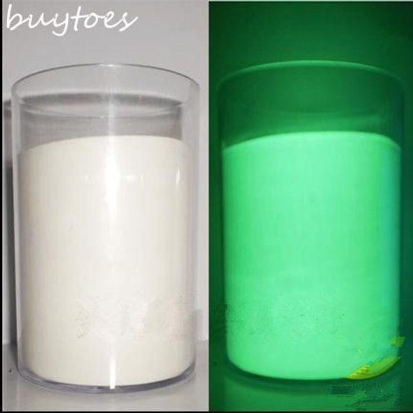 Beyaz Parlayan Yeşil Işık aydınlık toz fosfor pigment, 50 g / torba, Noctilucent Toz Boya için Karanlık Toz Pigment Glow