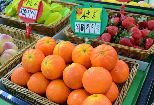 Frete grátis 2 pcs Supermercado frutas vegetais preço menu photo frame POP publicidade cartaz preço tag display holder