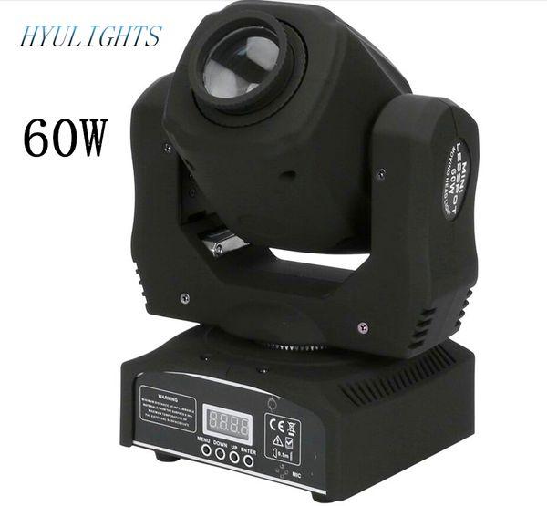 LED 60W Spot Moving Head Licht DMX512, Sound aktiv, Master / Slave, Stand Alon DMX Stage Light