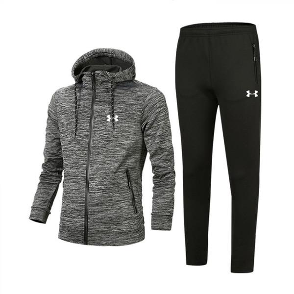 MensTracksuits Print Zipper Suit Designer Mens Clothes Best Version Spring Autumn Tops+Pants Men Fashion Casual Sweatshirt Sport Suits