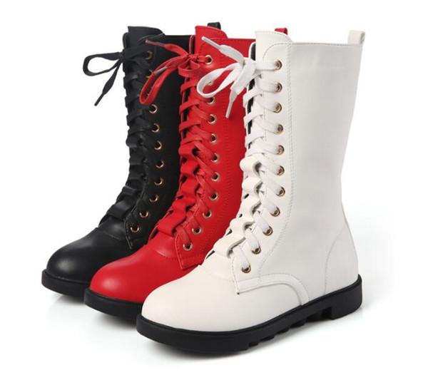 Bottes longues parent-enfant chaudes filles élégantes princesse sangle velours chaud chaussures de fête bottes de neige pour enfants enfant toujours après bottes hautes
